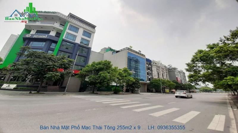 Ảnh của Chính chủ bán căn nhà mặt phố mạc thái tông, cầu giấy, 256m2, 9 tầng, mặt tiền 30m, 2 mặt phố, giá tốt