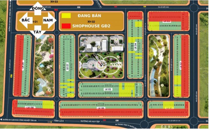 Ảnh của Khu dân cư hà huy tập – khu đô thị ân phú bảng giá đất chi tiết 2021