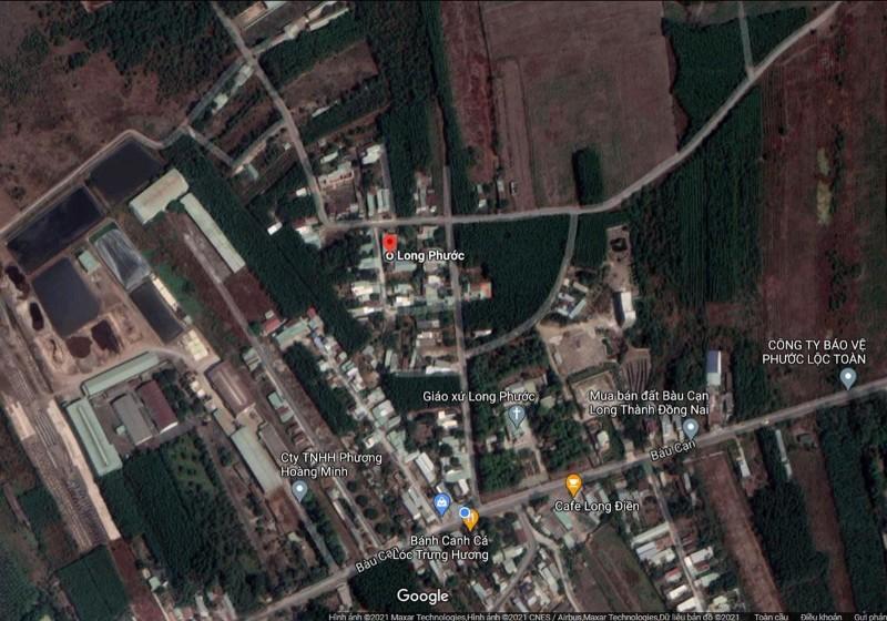 Ảnh của Bán đất nền 2 mặt tiền gần sân bay long thành, đường nhựa rộng 5m. còn thương lượng.