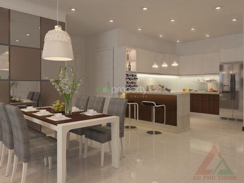 Ảnh của Khách cần bán ch the one sg 2pn/82m2, tầng trung, view thoáng, nội thất cao cấp, có thể vào ở ngay.