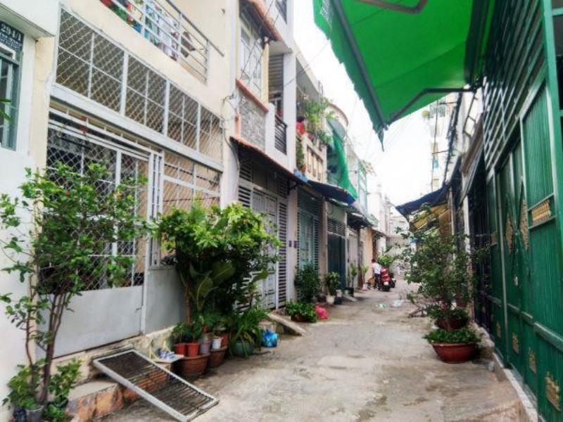 Ảnh của Bán nhà hẻm đường phú thọ hòa, quận tân phú, dt: 4x10 nhà 1 lầu giá 4,25 tỷ