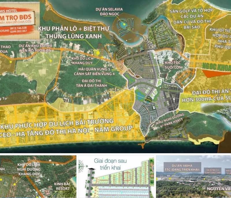Ảnh của Cần bán gấp giá đầu tư 4 lô đất liền kề dự án thung lũng xanh, dương tơ, tp. phú quốc