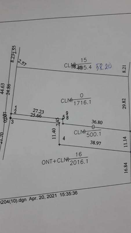 Ảnh của Cần bán 2 lô đất tại xã quới thành, châu thành, bến tre, giá đầu tư
