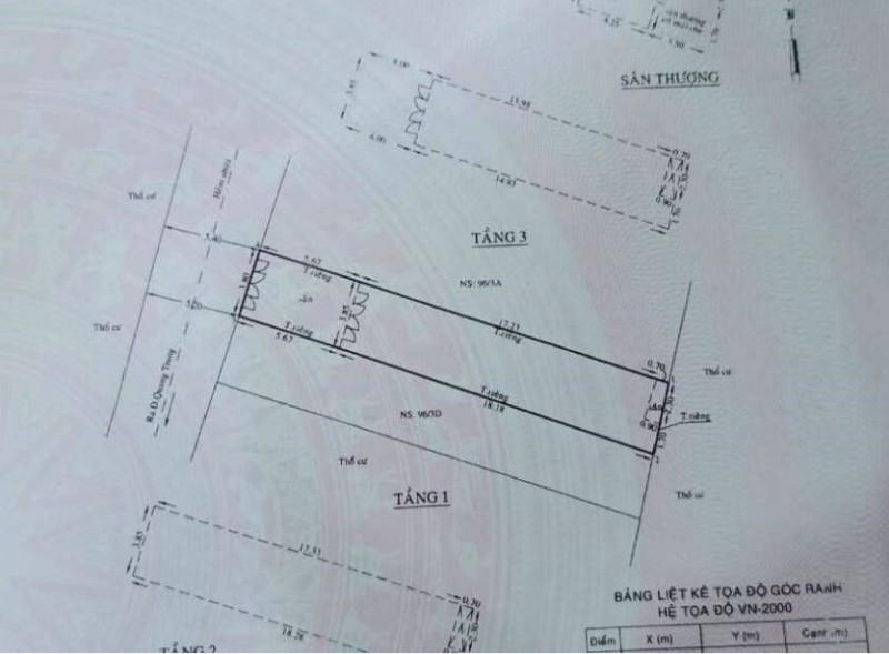 Ảnh của Gò vấp, bán nhà, quang trung, ts 4x24m, dt 92m2, chỉ 8.5 tỷ