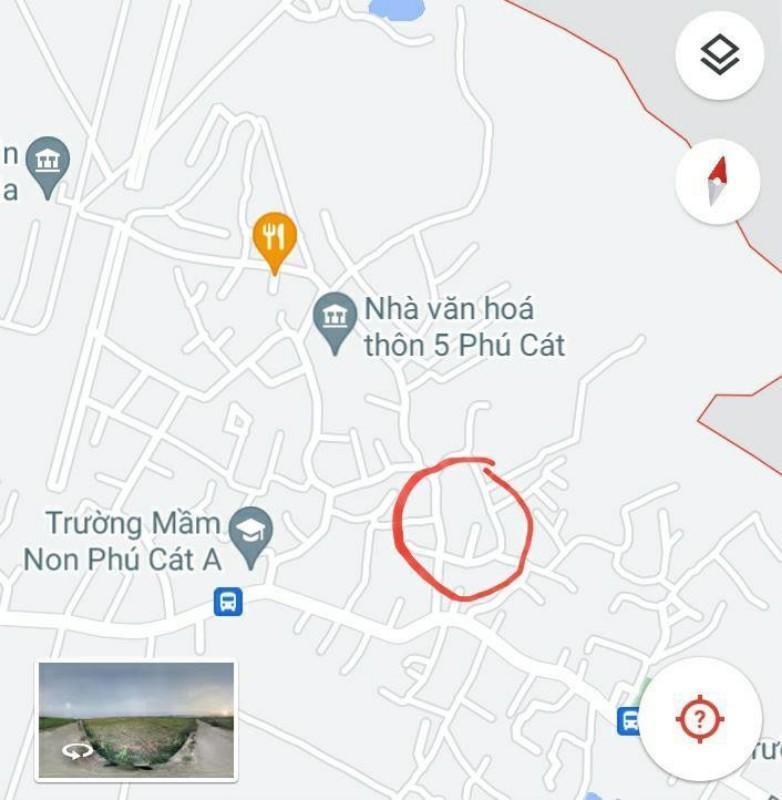 Ảnh của 70m2 tại thôn 4 phú cát, quốc oai, cách đại lộ thăng long 500m, cách đường dh09 100m