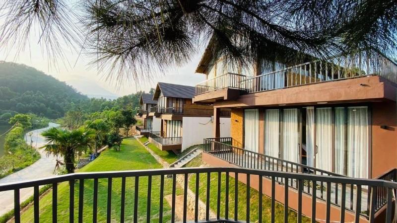Ảnh của Bán biệt thự nghỉ dưỡng tại ba vì sổ đỏ 100% thổ cư thang mây village khai thác du lịch hiệu quả