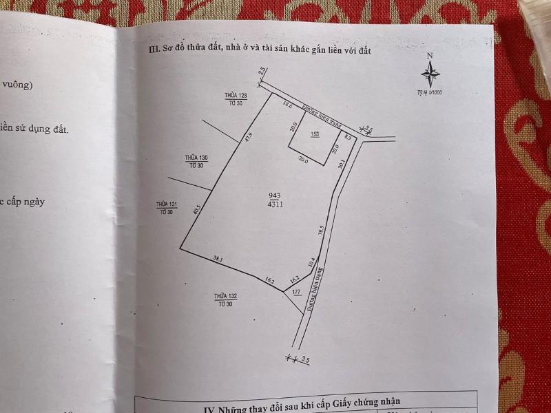 Ảnh của Bán mảnh đất hai mặt tiền tại tp bảo lộc, tỉnh lâm đồng
