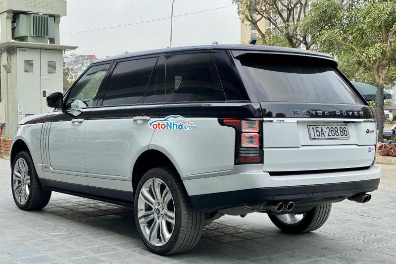 Ảnh của Range Rover SV Autobiography sx 2016, màu trắng xe cực đẹp odo 18.000km