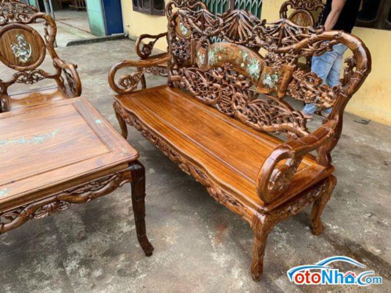 Ảnh của Bộ ghế trúc mai Song hỷ gỗ gụ 10 món giá 85 triệu