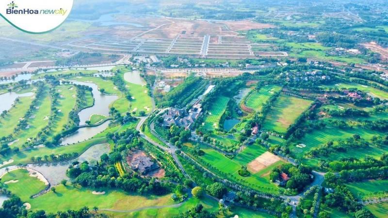 Ảnh của Đất nền biệt thự sổ đỏ biên hoà new city view sông đồng nai, biên hòa new city nằm trong sân golf long thành
