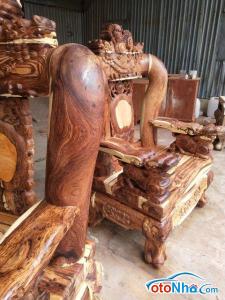Ảnh của Salon gỗ cẩm sừng tay 20 gồm 10 món