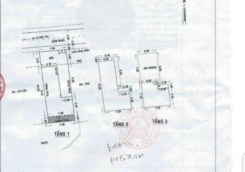 Ảnh của Gò vấp, nguyễn oanh, bán biệt thự mini 1t2l ts 7.5x20m, chỉ 14.5 tỷ
