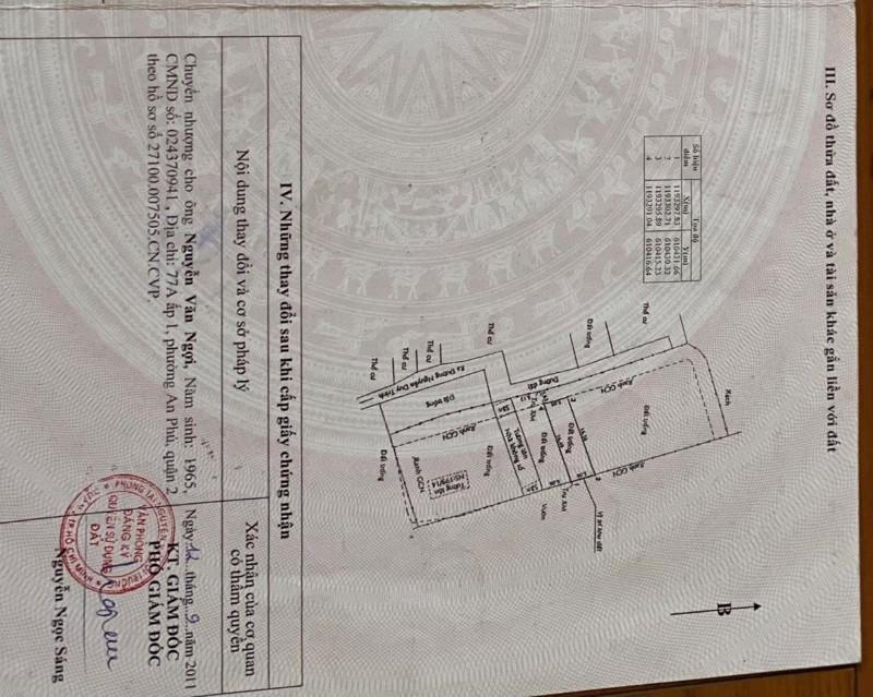 Ảnh của Cần bán lô đất 100m2 tại bình trưng tây, quận 2, hồ chí minh, giá tốt