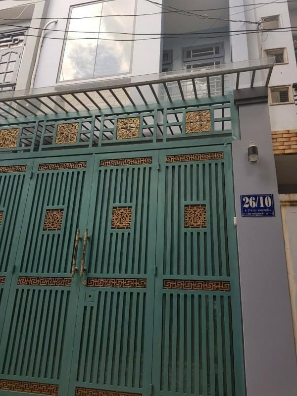 Ảnh của Cần bán gấp nhà đẹp đường ttn18, tân thới nhất, q.12, hcm, giá tốt