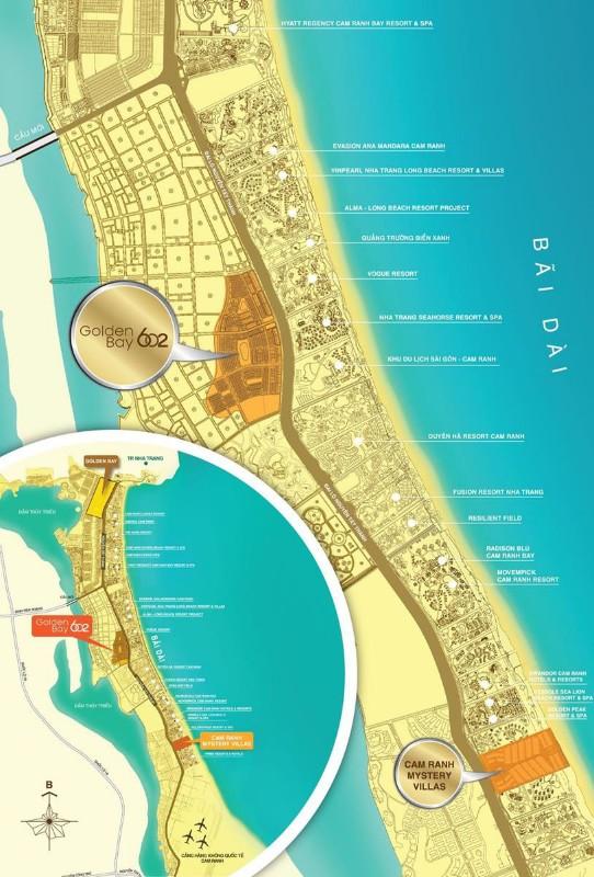 Ảnh của Cơ hội đầu tư đất biển tại bãi dài nha trang, golden bay cđt tập đoàn hưng thịnh giá chỉ từ 20-43tr/m2