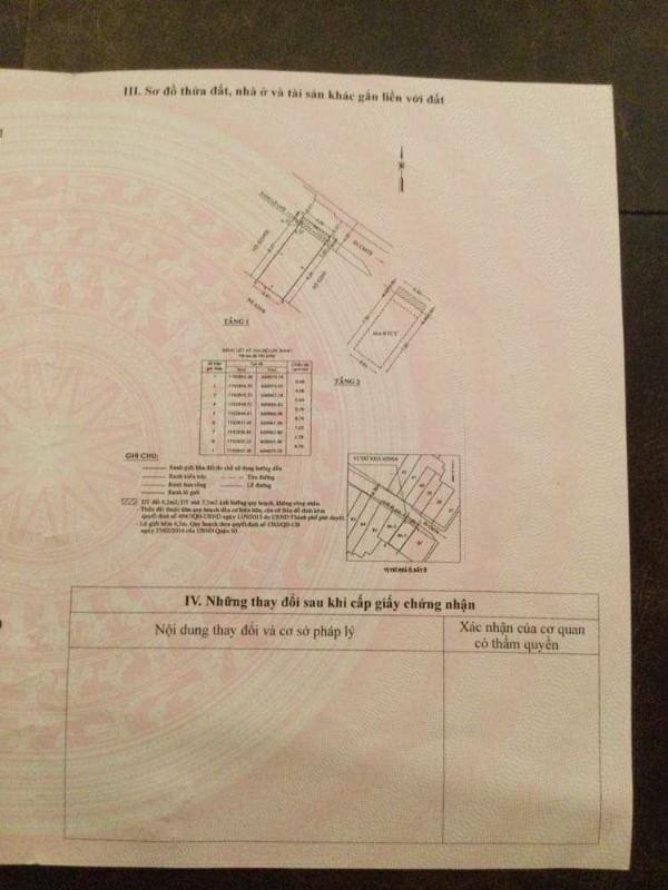 Ảnh của Cần bán nhà riêng số 629/6a đường cmt8, p.15, quận 10, hcm, giá tốt