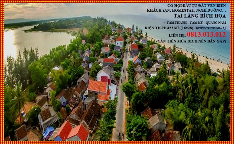 Picture of Đất ven biển tam thanh cần bán nhanh, thích hợp xây resot, hotell, du lich..