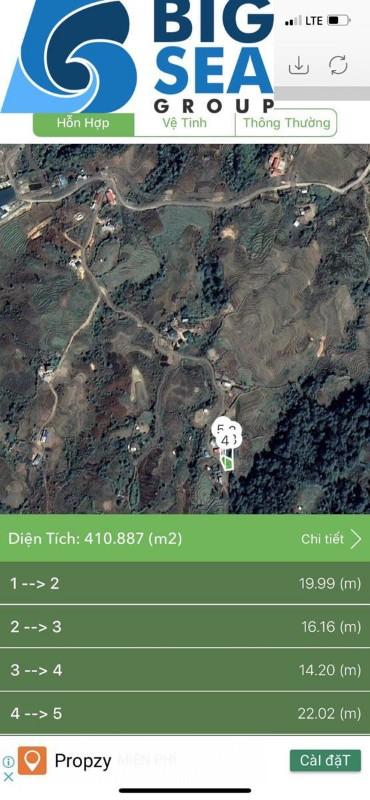 Ảnh của Lô đất khoảng 1000m2 phìn hồ. y tý. có núi, có hồ, có thung lũng, có view, sổ đỏ, nhà sàn.