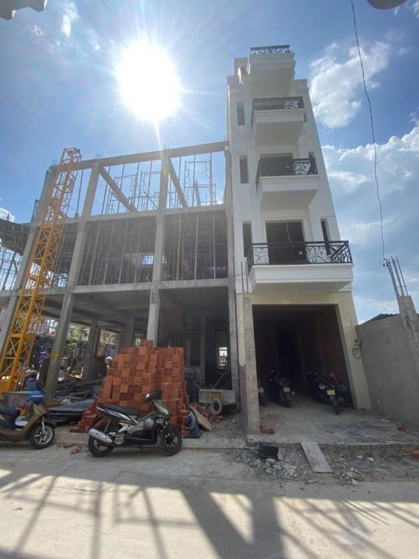 Ảnh của Nhà 5 tầng có thang máy shr có sẵn tt chỉ 1.5 tỷ nhận nhà mt hà huy giáp quận 12