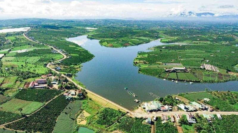 Ảnh của Bán đất sẵn vườn trái cây, 100% thổ cư, tặng nhà cấp 4 + ao cá view hồ trị an