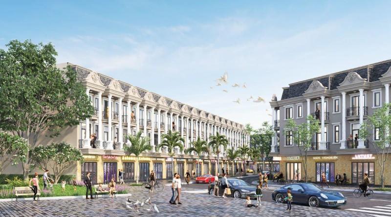 Ảnh của Nhà phố liền kề royal town, thành phố dĩ an, bình dương, ngân hàng hỗ trợ 70%
