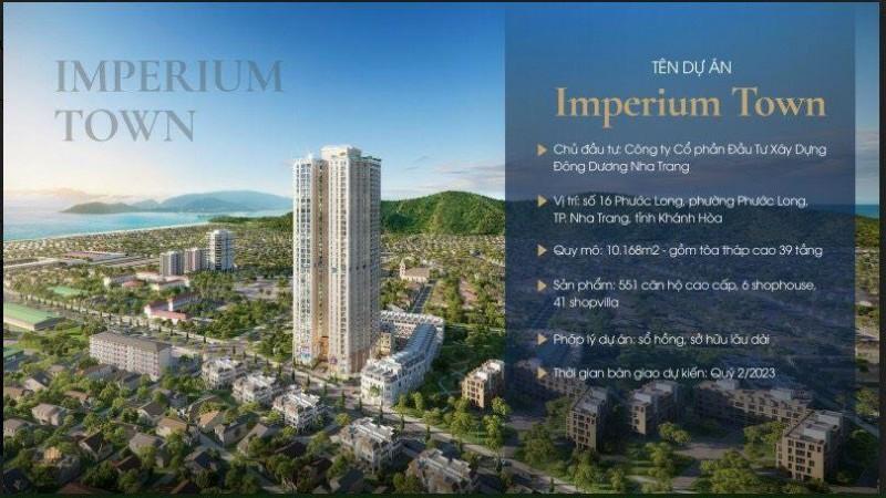 Picture of 07 lý do quý anh chị nên mua căn hộ imperium town nha trang