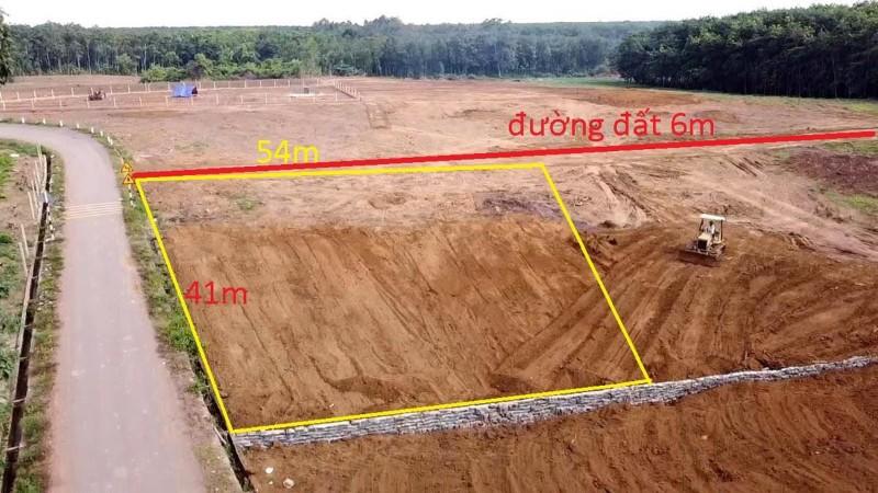 Picture of 2021m2 đất 41m mặt đường nhựa liên thông bình an, long thành