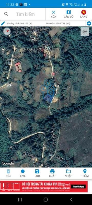 Picture of Mót được mảnh đất y tý siêu đẹp, siêu rộng 1200m2 mà giá siêu rẻ.
