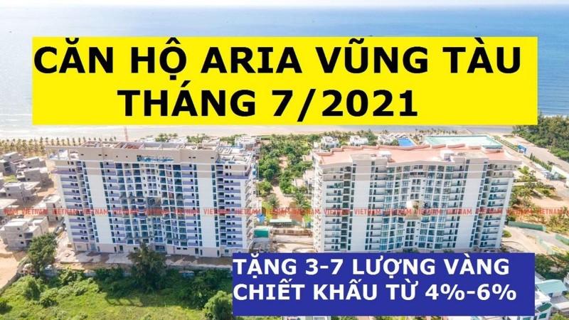 Picture of Aria vũng tàu tầng cao, căn 2pn-115m2, giá 4.9 tỷ, chiết khấu 6%, tặng 6 lượng sjc, tháng 9/2021