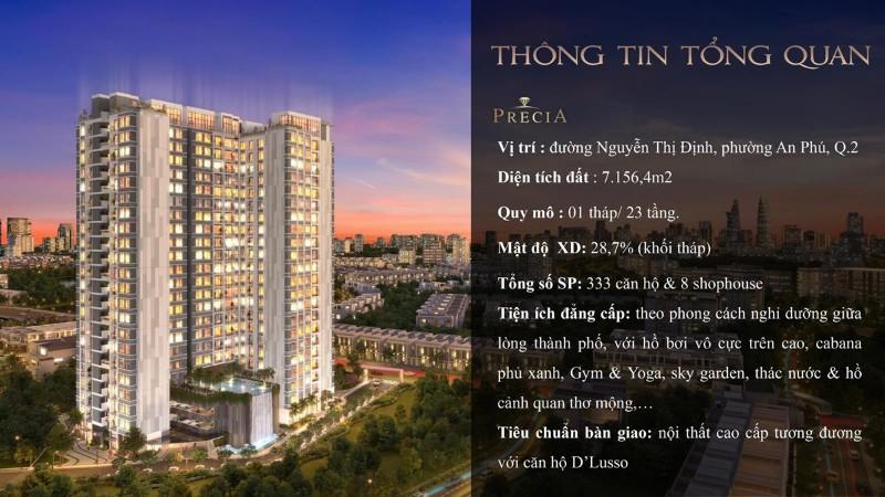 Picture of Bán căn hộ 3pn, dt 101m2 tầng cao tt q2 - a.14.07. căn hộ cao cấp precia. chiết khấu 120tr thanh toán 1.8 tỷ