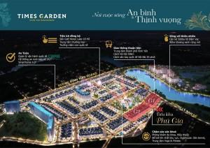 Picture of Bán lô nhà vườn siêu đẹp tại times garden vĩnh yên.