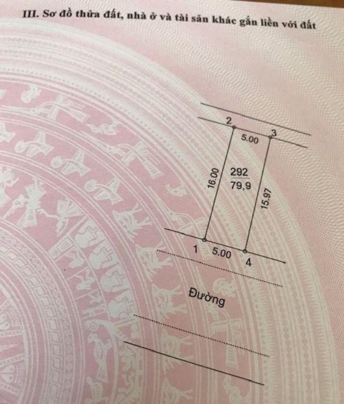 Picture of Cần bán lô đất nền 80m2 dự án xã tân lập, đan phượng, hà nội sổ đỏ chính chủ giá 2.8 tỉ
