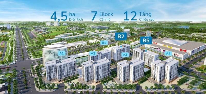 Picture of Ehome southgate căn hộ 980tr. thanh toán 500tr nhận nhà tại khu đại đô thị waterpoint long an