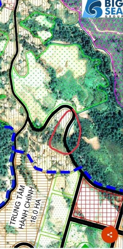 Picture of Lô đất thôn trung chải hiện tại dt 3300m2. sát trung tâm hành chính huyện mới.