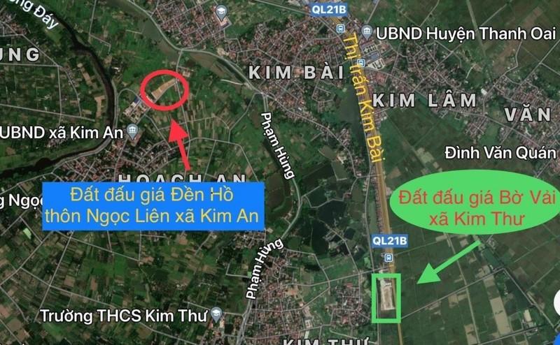 Ảnh của Chính chủ bán đất đền hồ, kim an, vị trí gần uỷ ban huyện thanh oai, 100m2, hơn tỷ