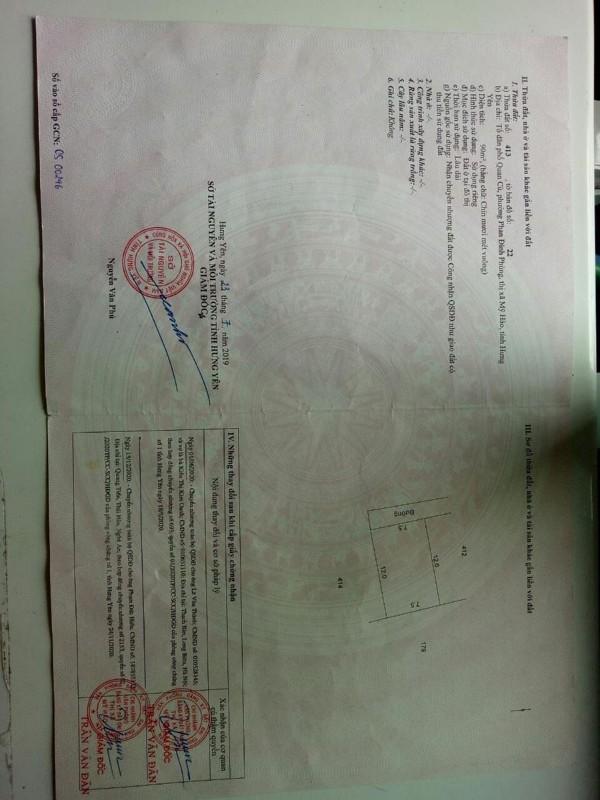 Ảnh của Bán đất quan cù - phan đình phùng - thị xã mỹ hào lh0982923665