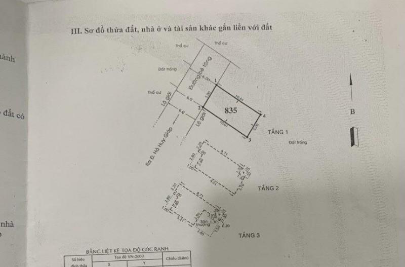 Picture of Quận 12, nhà hẻm 6m hà huy giáp, ts 5x10m, chỉ 3.5 tỷ