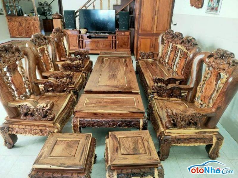 Picture of Bộ triện gỗ cẩm lai 10 món tay 14