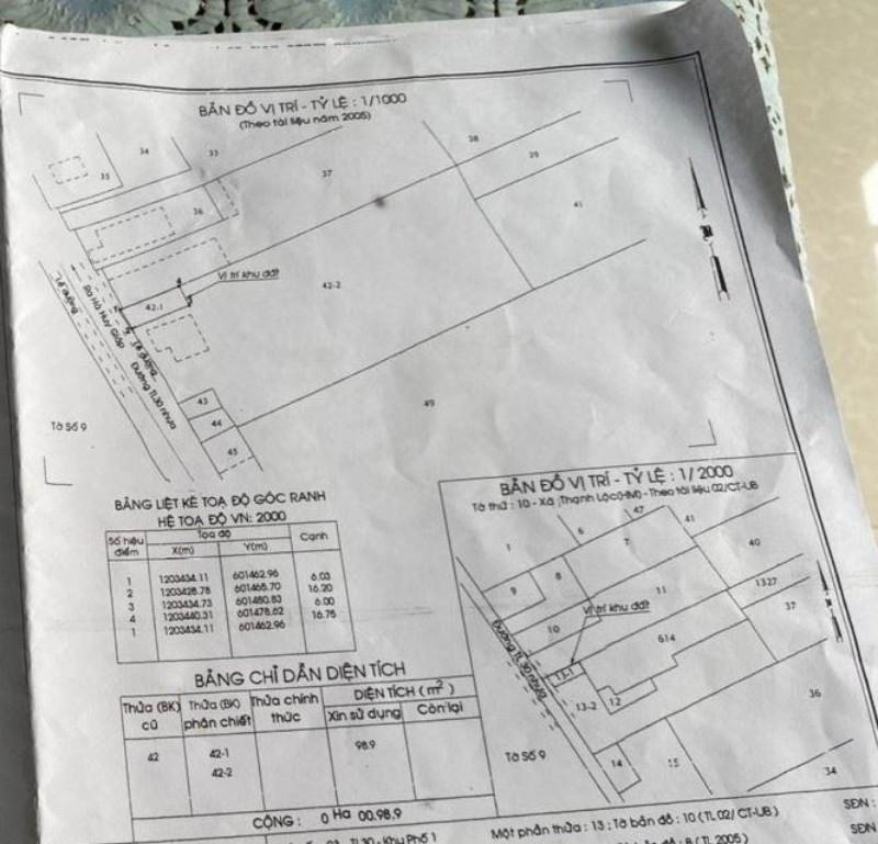 Picture of Quận 12, bán đất mt nguyễn thị sáu, 20x85m 1665m2, chỉ 29 tỷ