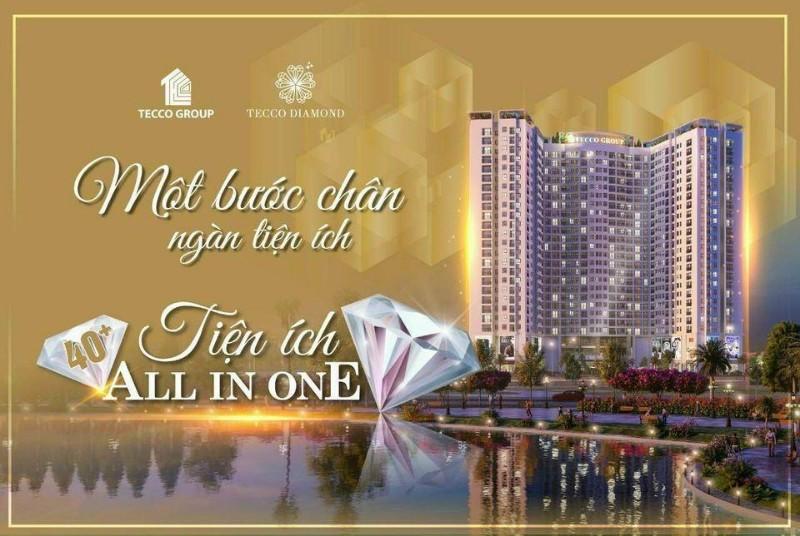 Ảnh của Căn hộ 2pn 62.6m2 siêu đẹp chung cư tecco diamond thanh trì giá chỉ từ 1.6 tỷ