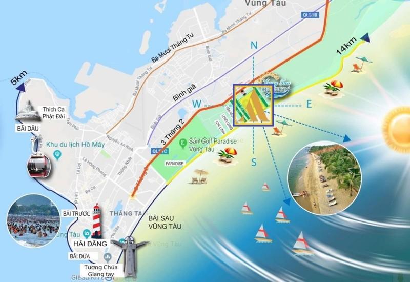 Picture of Aria vũng tàu chiết khấu 6% & 6 lượng vàng căn 2pn-115m2, view biển,giá 4.9 tỷ đã thuế