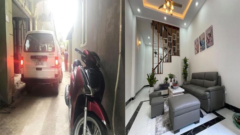 Picture of Cần bán căn nhà 4,5 tầng 42m2 ô tô đỗ cửa trung tâm quận cầu giấy giá nhỉnh 4 tỷ
