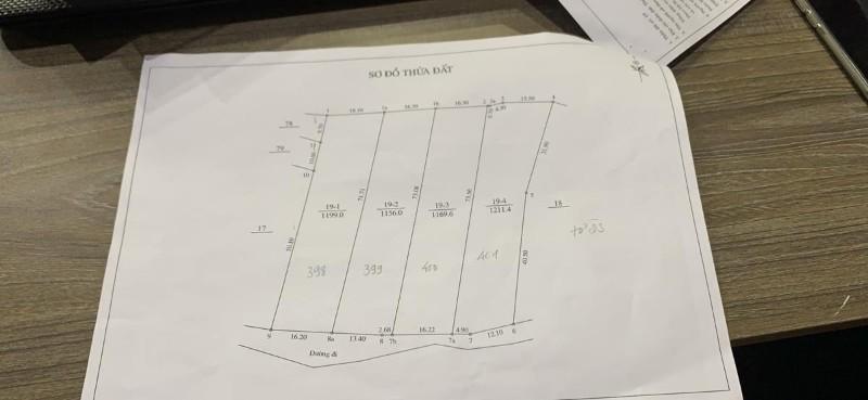Ảnh của Bán lô đất 3525m2 xã xuân sơn thị xã sơn tây giá 2,7tr/m2. phân lô siêu lợi nhuận